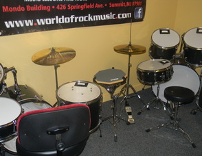 drums kids practice on