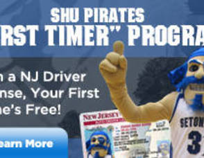 "Seton Hall Pirates Announce Their ""First Timer"" Program!, photo 1"