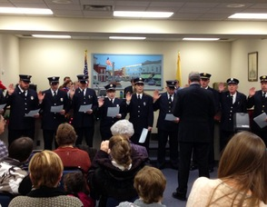Sussex Fire Department Officials