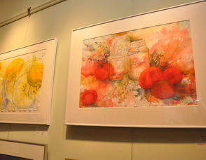 Lemons and tomatoes by artist Jane Brennan Koeck.