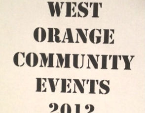 West Orange Community Events Recap for 2012, photo 1