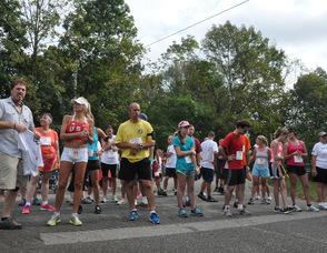 5K Participants line up.