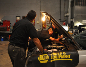 Extreme Energy Technicians install a SMART Emissions Reducer.