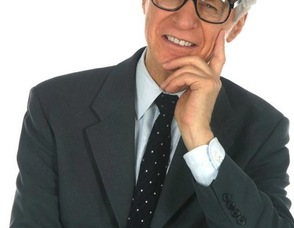 "The Amazing Kreskin goes by the motto, ""Even now I know what you're thinking."""