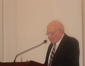Resident Dr. Joseph Fennelly speaking out against guns