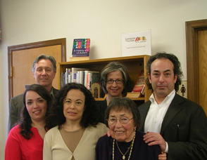 The Reiss Family at the Fanwood Library