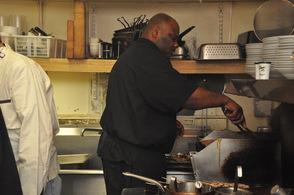 Chef Jesse Jones cooks up Carolina-inspired chicken.