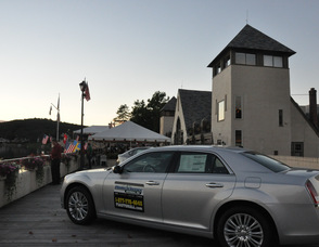 Two vehicles, courtesy of Franklin Sussex Auto Mall, at the event.