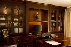 A sample wall unit