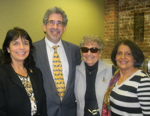 Overlook Medical Center President Alan Lieber with guests
