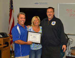 Fanwood Rescue Squad says thanks to Frank's Auto Repair and Auto Body