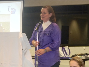 Relay for Life of Berkeley Heights co-chair Linda Weber