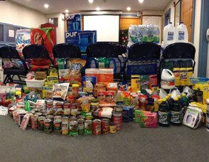 Liberty Hall Organizes Successful Food Drive, photo 1