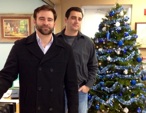 Matt Milano (left) and associate Mark Milano (right).