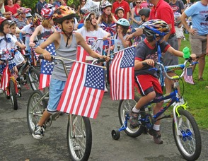 Excitement Mounts at Start of Annual Bike,Trike & Stroller Parade