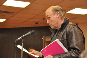 Resident Fred Judge provided estimates to the council about the ordinances.