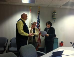 Andover Township council meeting Delores Blackburn