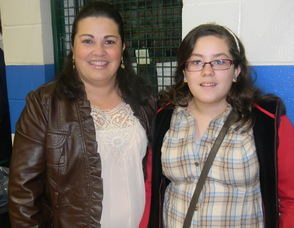 Summit resident Marcela Morales with her daughter