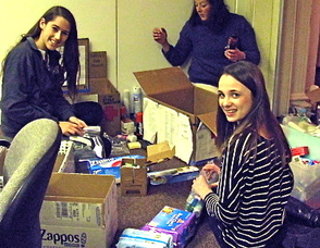 Red Cross Youth Council Veterans Care Package Project