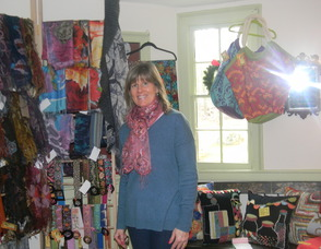 Nancy  O'Brien, owner of Magpie Designs
