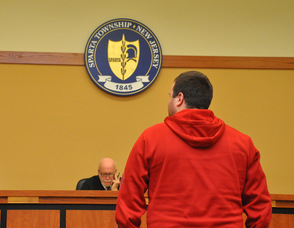Nathaniel Wittner, in front of the Honorable John E. Mulhern, at Sparta Municipal Court.