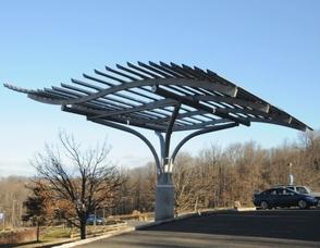 WattLots Power Arbor System at Runnells Hospital