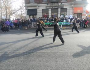 a dance team