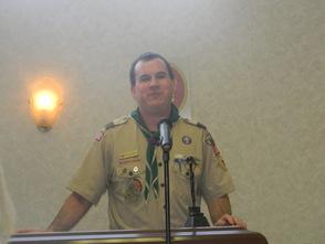 Troop Advisor William Schultz