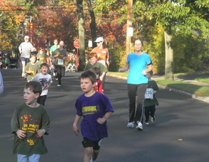 kids running one mile
