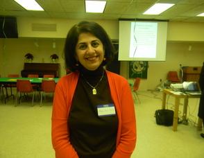 Diversity Committee member Marjan Nirou Saniee