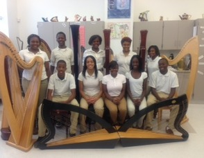 Cicely L. Tyson School of the Performing and Fine Arts Harp Ensemble