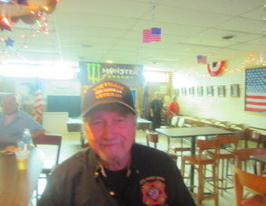 VFW Post 6259 commander Walter Gloss