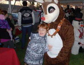 Reindeer Hug