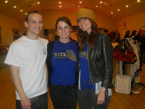 Rock, Shop, & Relief: A Sandy Charity Event creators Nick Bowden, Chelsea Bene and Jillian Pfund