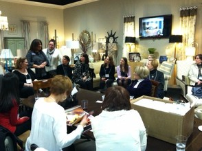 B.I.G. networking meeting held at Creative Wallcoverings on February 4, 2013