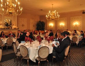Guests at the Lafayette House for the 8th Annual Economic Development Awards Luncheon.