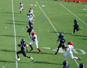 West Orange defensive back Isaiah Scott's 68-yard interception for a touchdown