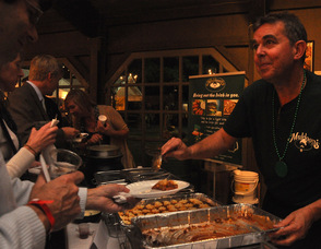 Doug and Janine Winch dish out Irish fare for Muldoon's.