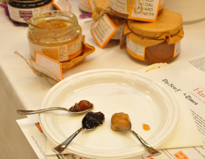 Harvest Song all natural preserves, including apricot, sour cherry, and fig selections.