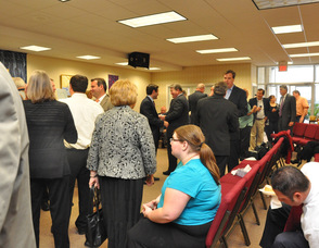 Attendees at the reception for D&H Alternative Risk Solutions.