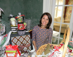 Amy McCarthy, the founder of Cookies and Cartwheels