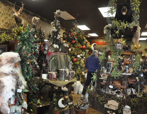 Rustic elegance greets shoppers at the Open House.