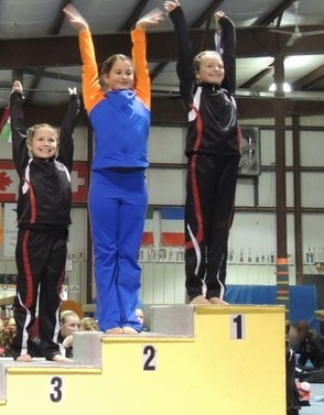 Morgyn Witt of Newton takes 2nd on Balance Beam
