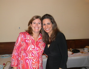 SRCC Chair Lisa Allen with member Deb McCann
