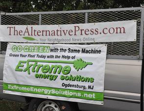 Banners for TheAlternativePress.com, and Extreme Energy Solutions.