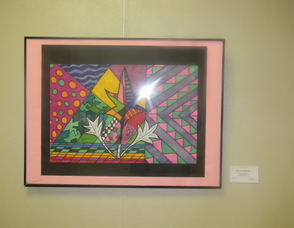Art on display in the show
