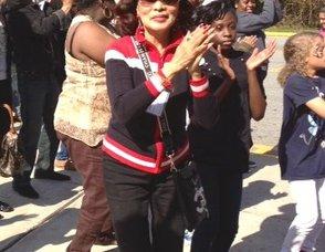 PRC Commissioner Josie Velez does the Macarena