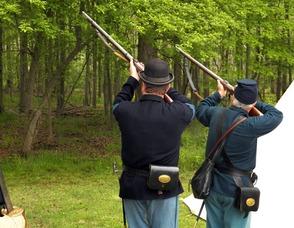 Civil War Reenactors Bring American History to Life in Berkeley Heights, photo 5