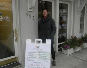 Founder of Simply Yoga Institute, Eliana Moreira