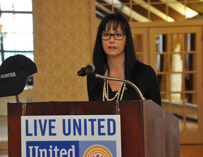 Theresa Leamy, United Way Senior Vice President of Resource Development.